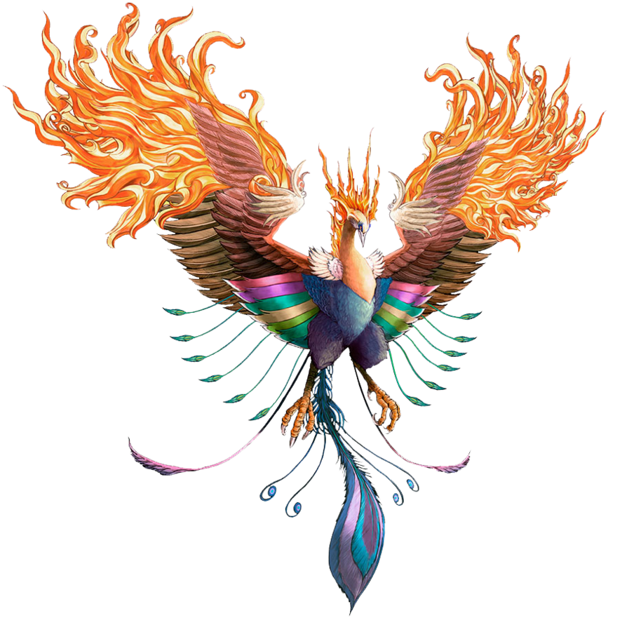 Phoenix png image. Transparent images all free