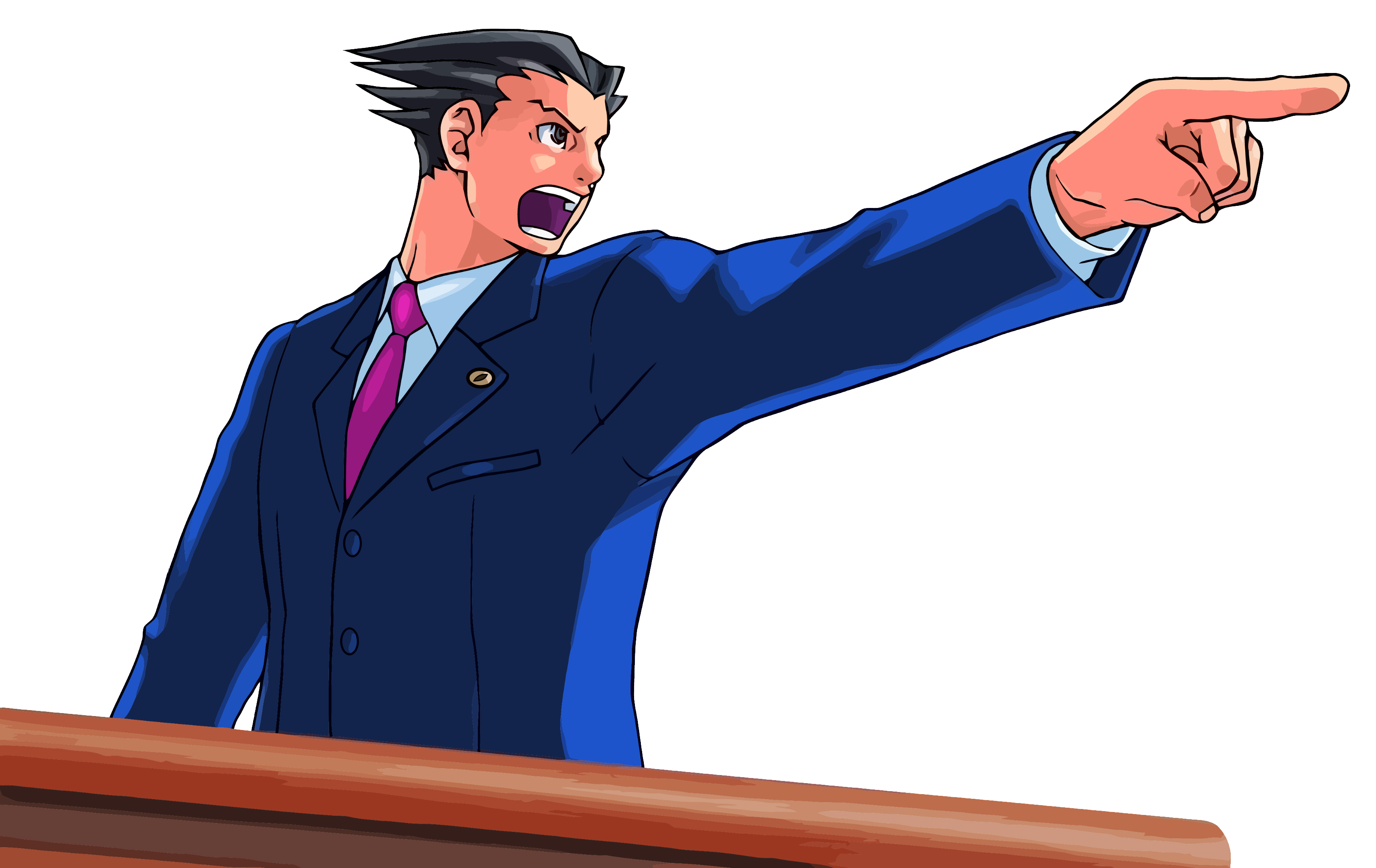Phoenix wright ace attorney png. Confirmed for nintendo ds