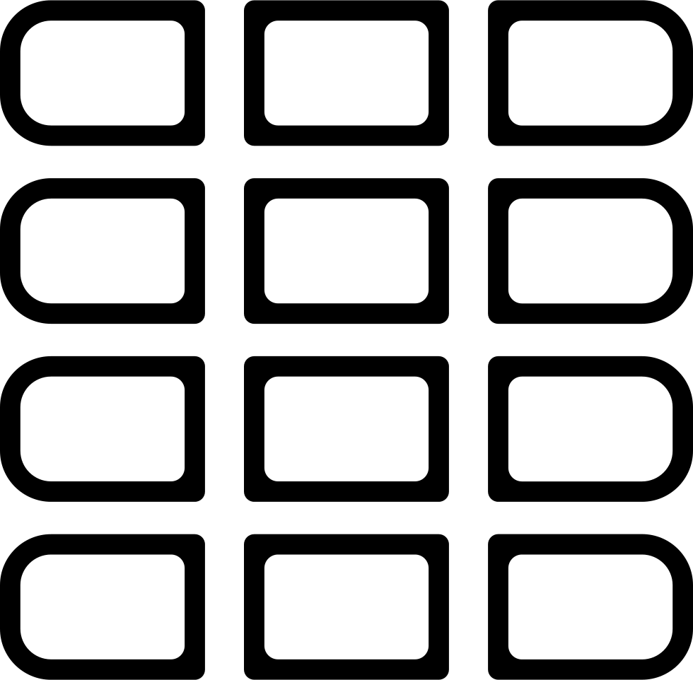 Phone buttons png. Keyboard svg icon free