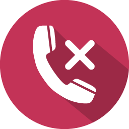 Phone call icon png. Reject flat iconset graphicloads