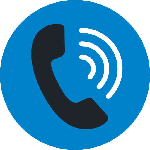 Phone call icon png. Communications telephone size