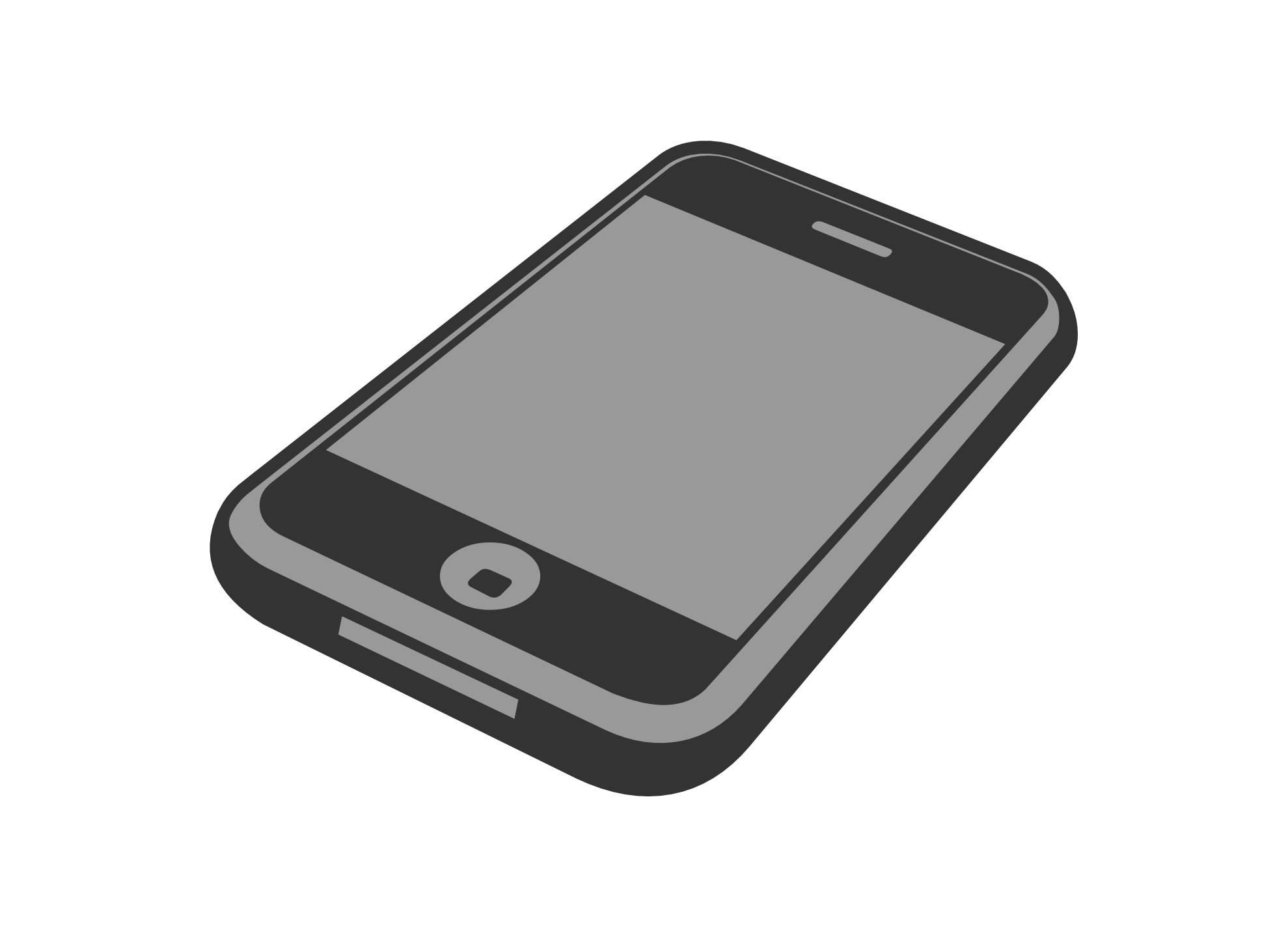 iphone svg slate grey