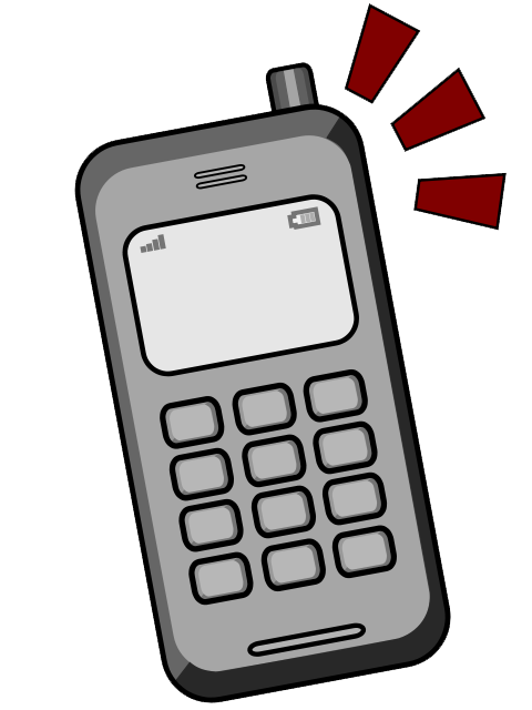phone clipart mobile phone user