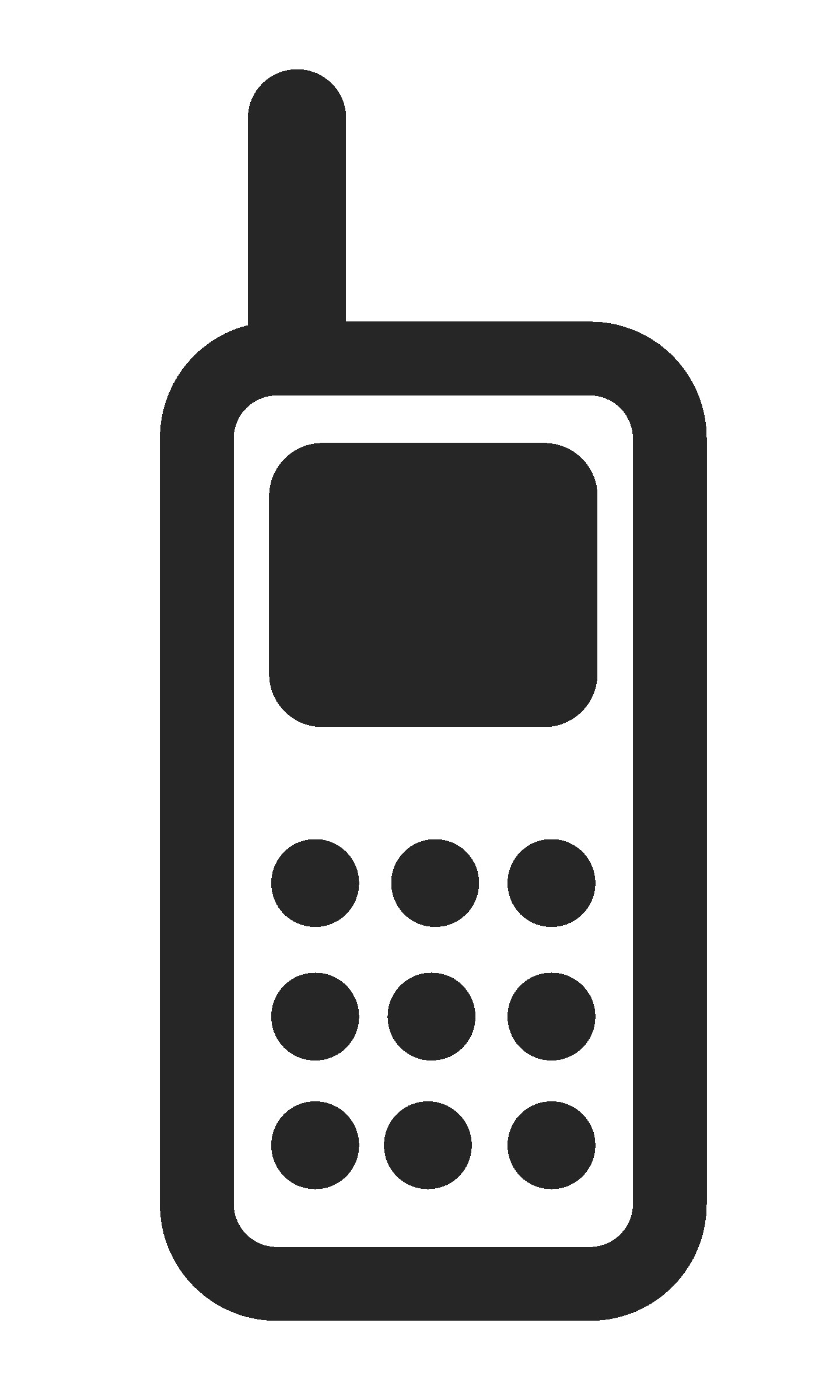 Phone clipart moblie. Cell black and white