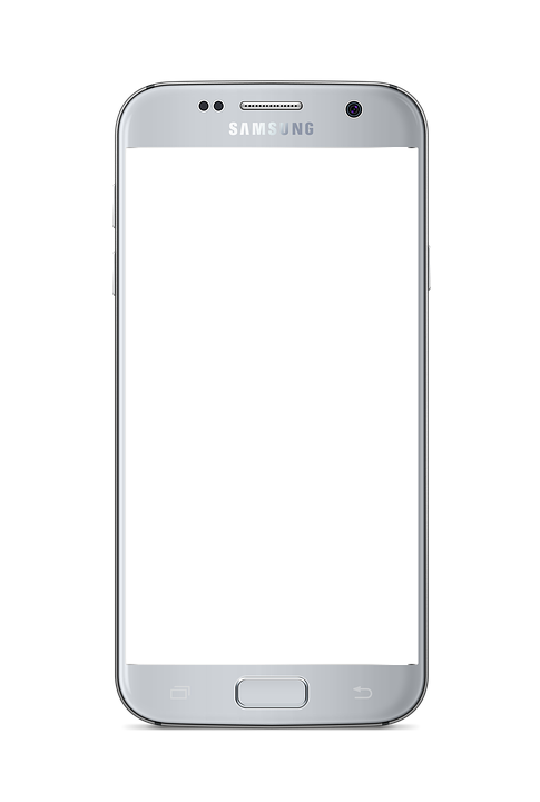 Android image . Phone frame png stock