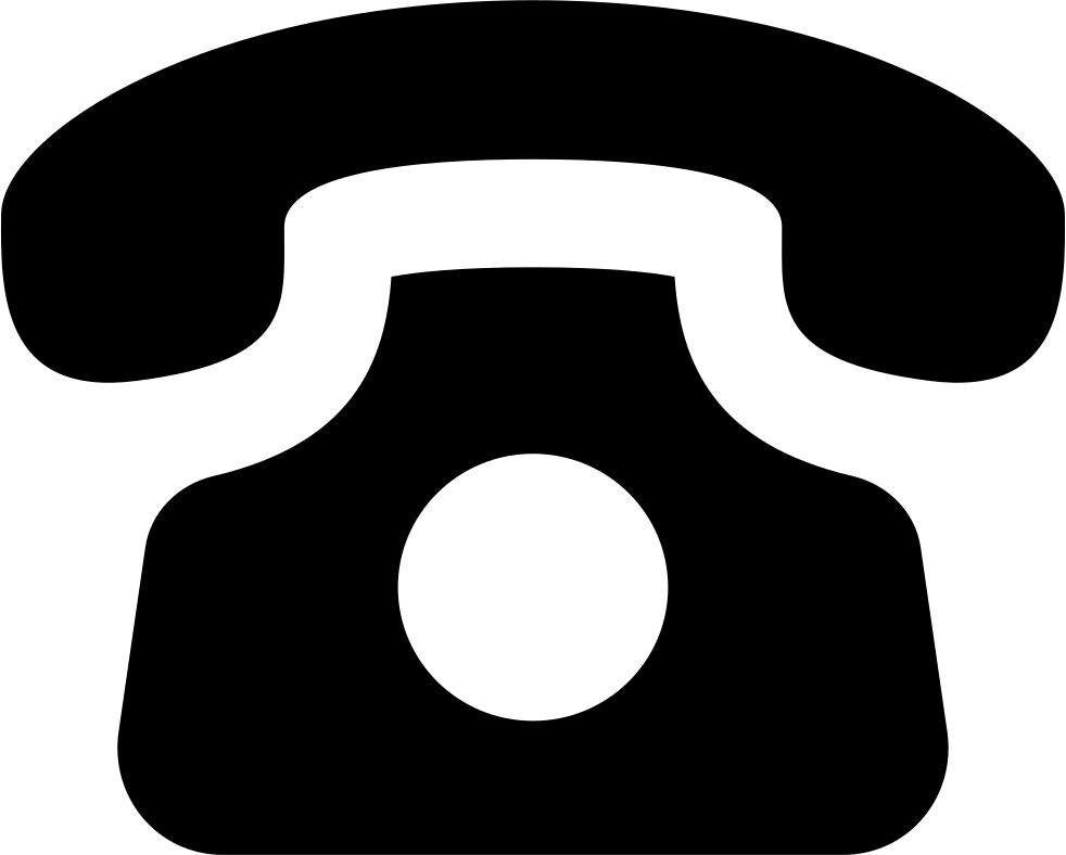 Phone icon white png. Old svg free download