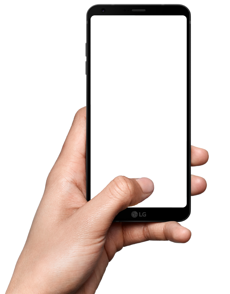 Png phone. Mobile in hand transparent