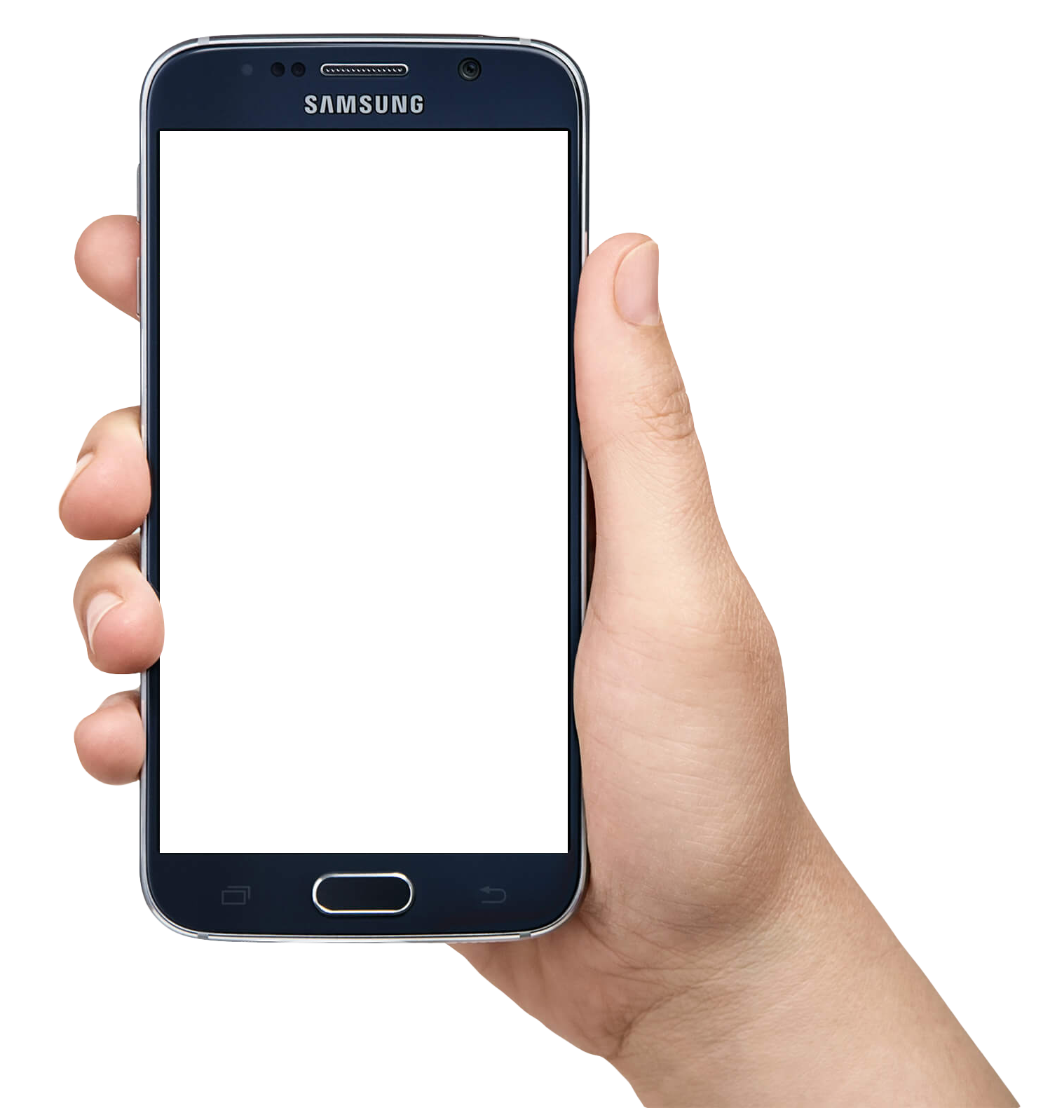 Phone png. In hand images free