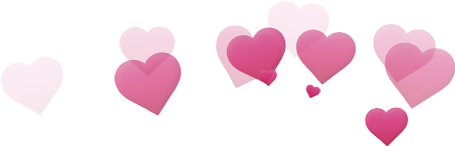 Hearts photo booth png. Tumblr pink photobooth filter
