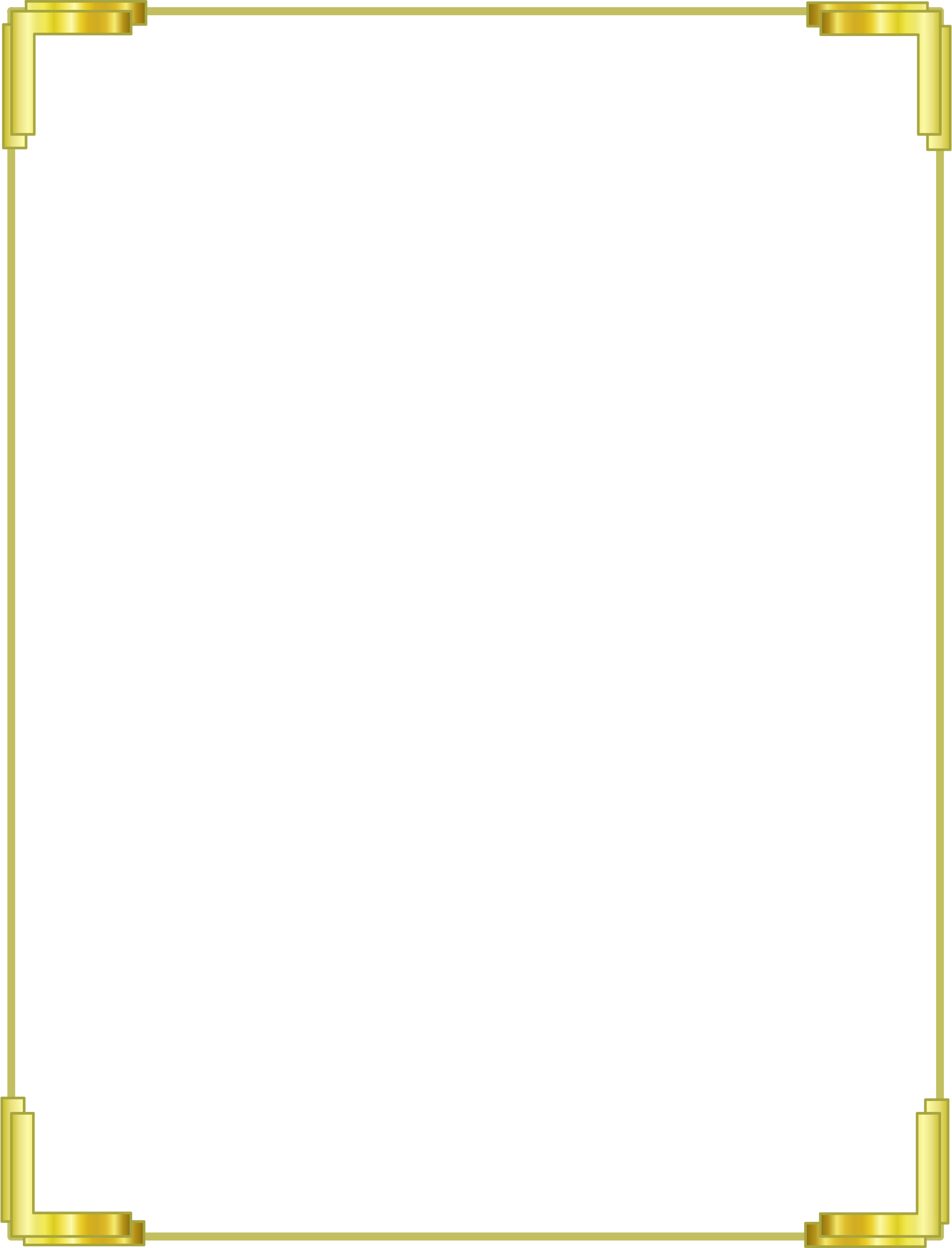 Photo border png. Gold frame