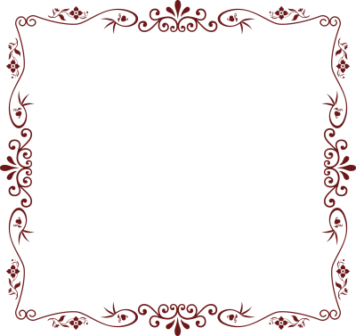 Photo borders png. Download flowers free transparent