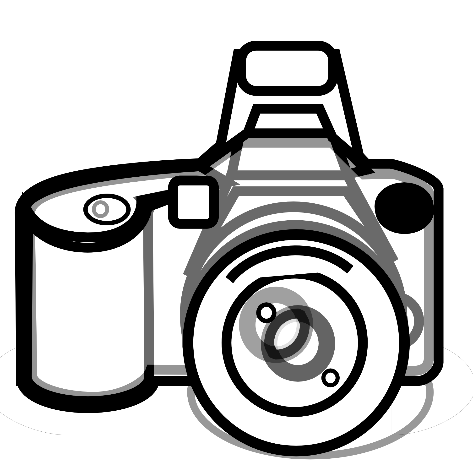 Photo camera clipart png. Panda free images cameraclipartblackandwhitepng
