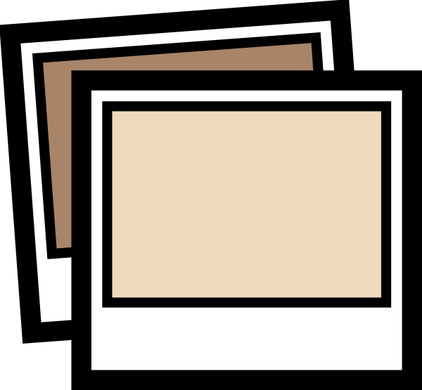Photograph brown clip art. Photo clipart svg free download