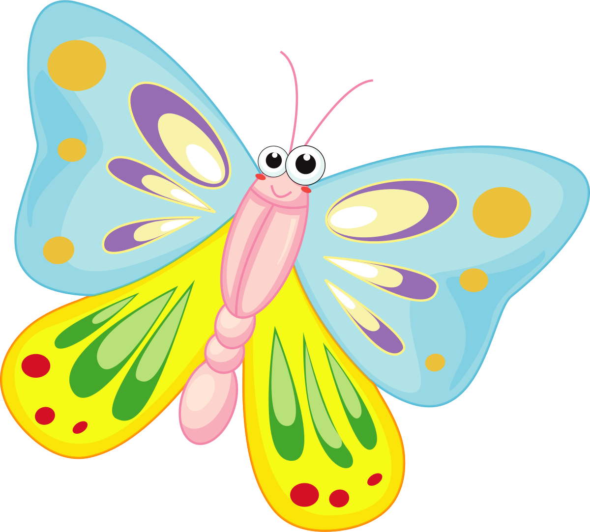 Photo clipart butterfly. Free cliparts download clip
