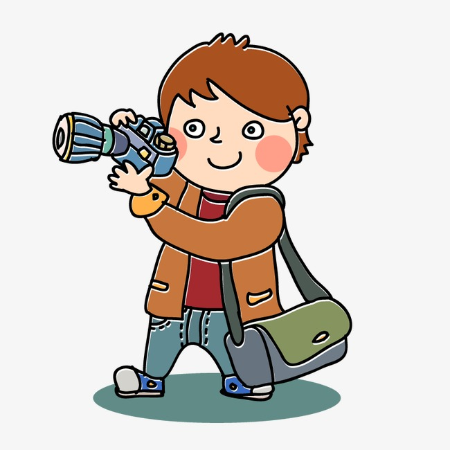 Photo clipart photographic. Little boy photographers slr