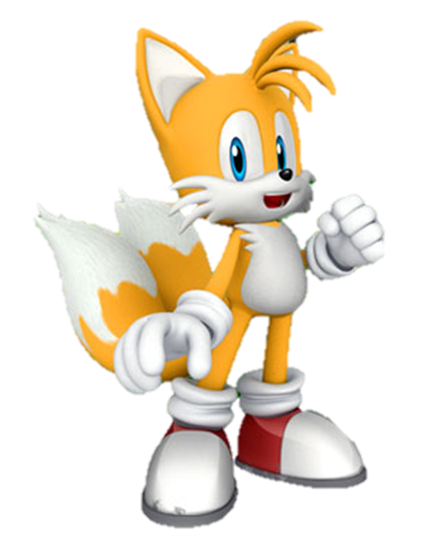 Photo format png. Image tails sonic the