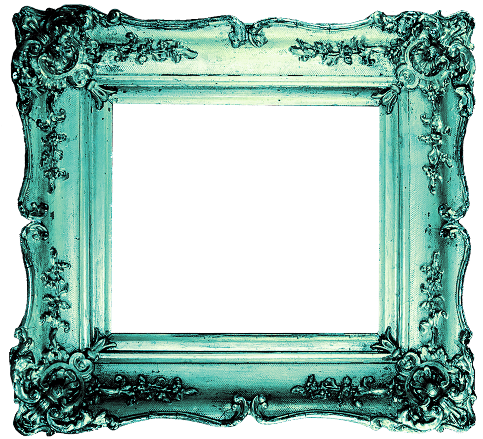 Photo frame png free download. Turquoise arts