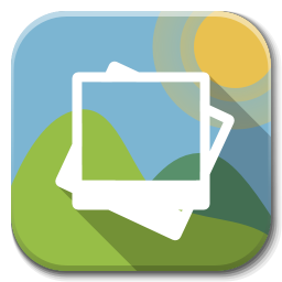 Gallery icon png. Apps flatwoken iconset alecive