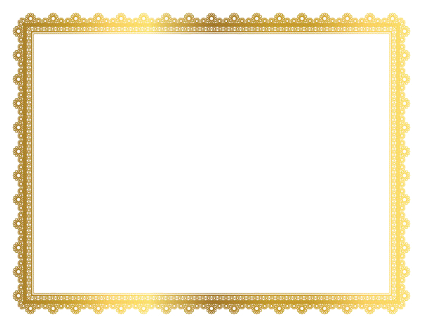 Borders and frames png. Gold frame images transparent