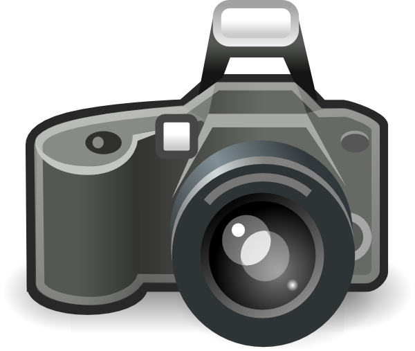 Clip art at clker. Yearbook clipart camera photo shoot svg free