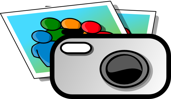 Photograph clipart camea. Photo camera clip art
