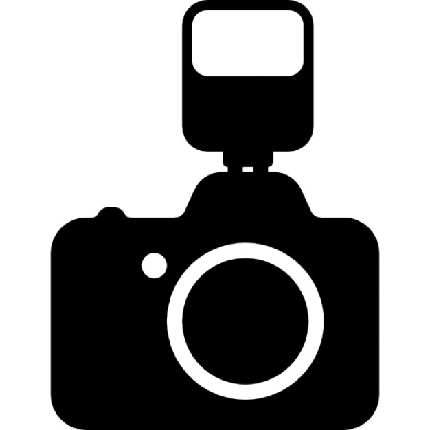 Photograph clipart camera flash. Photo with a icons