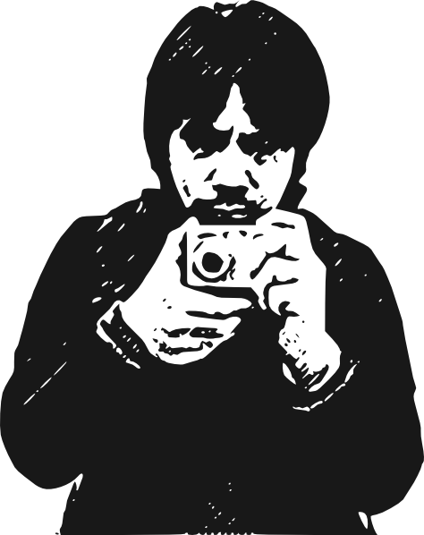 Photography clipart photographer silhouette. Clip art library