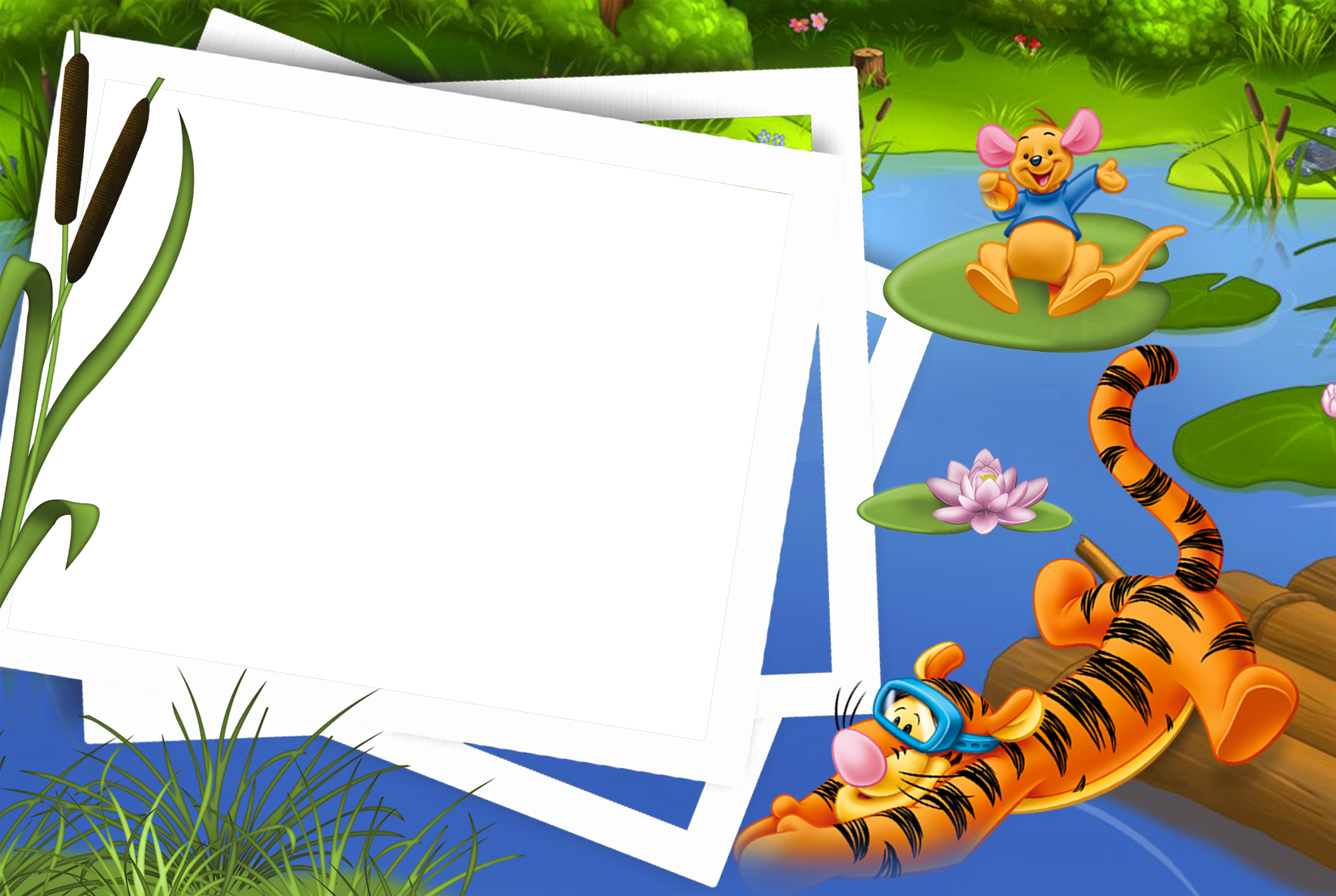 Photography background png. Kids transparen photo frame