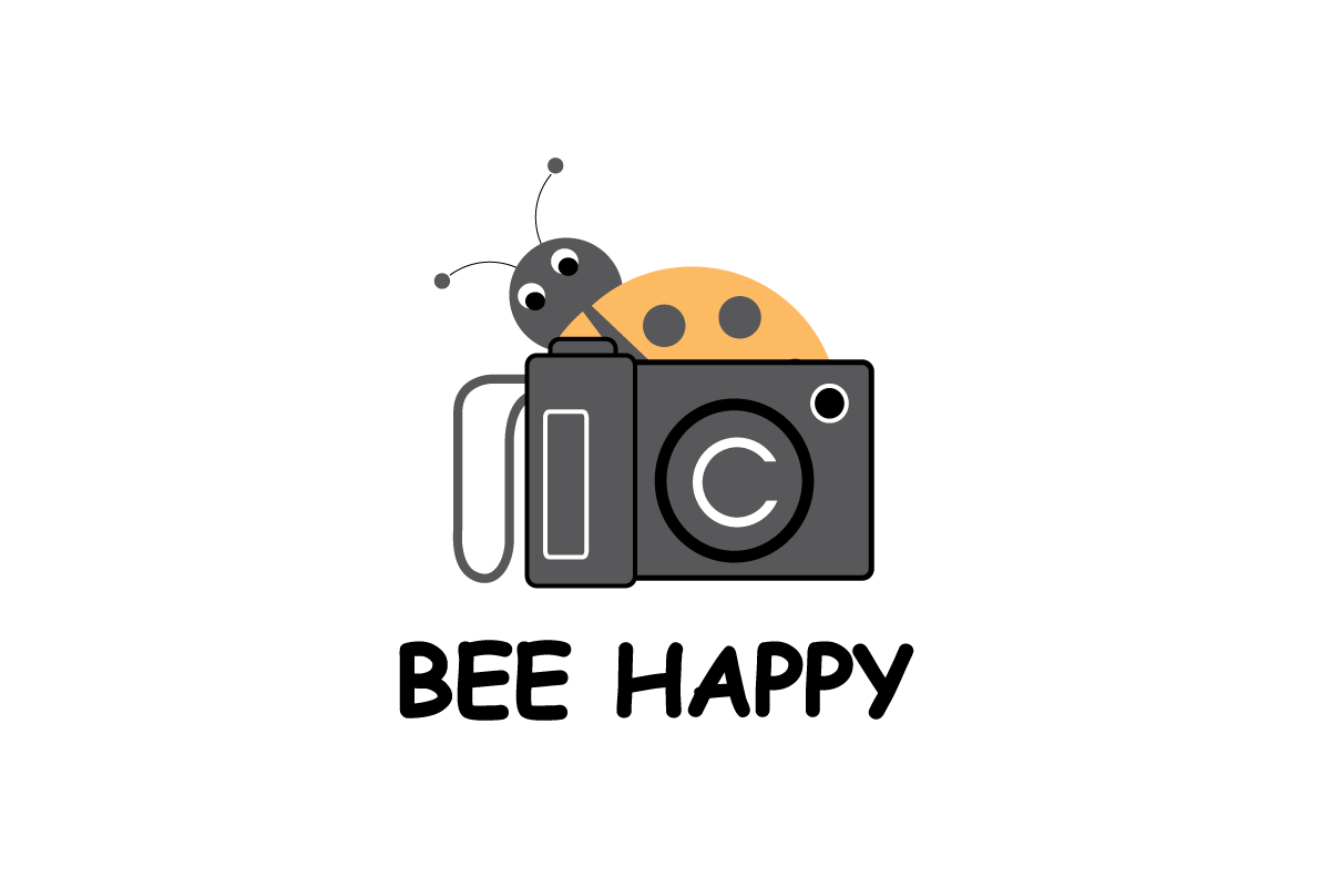 Playful colorful professional for. Photography camera logo design png jpg royalty free