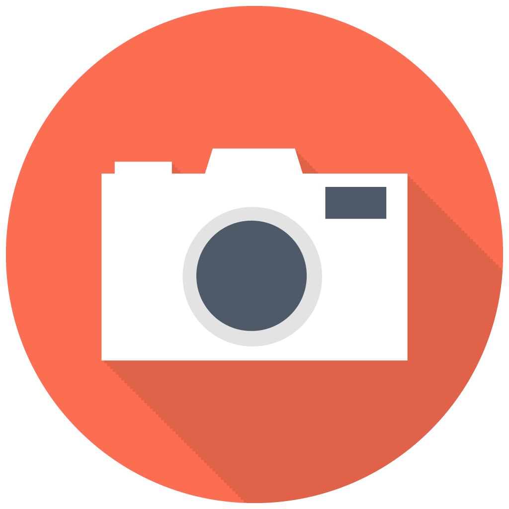 Photography icon png. Dslr camera free flat