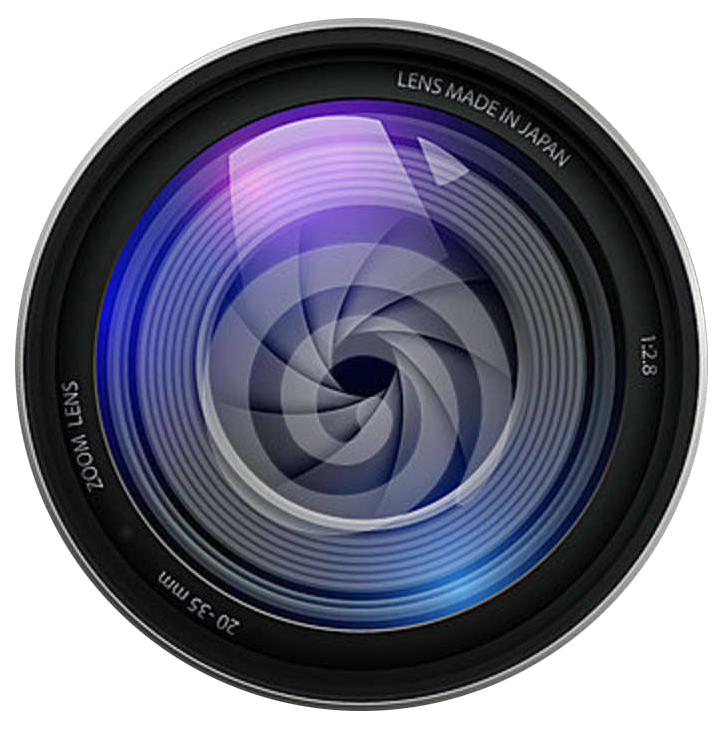 Photography lens png. File name video camera