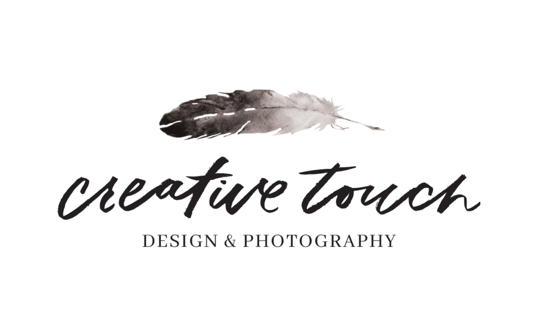 Photography png logo. Creative touch design gets