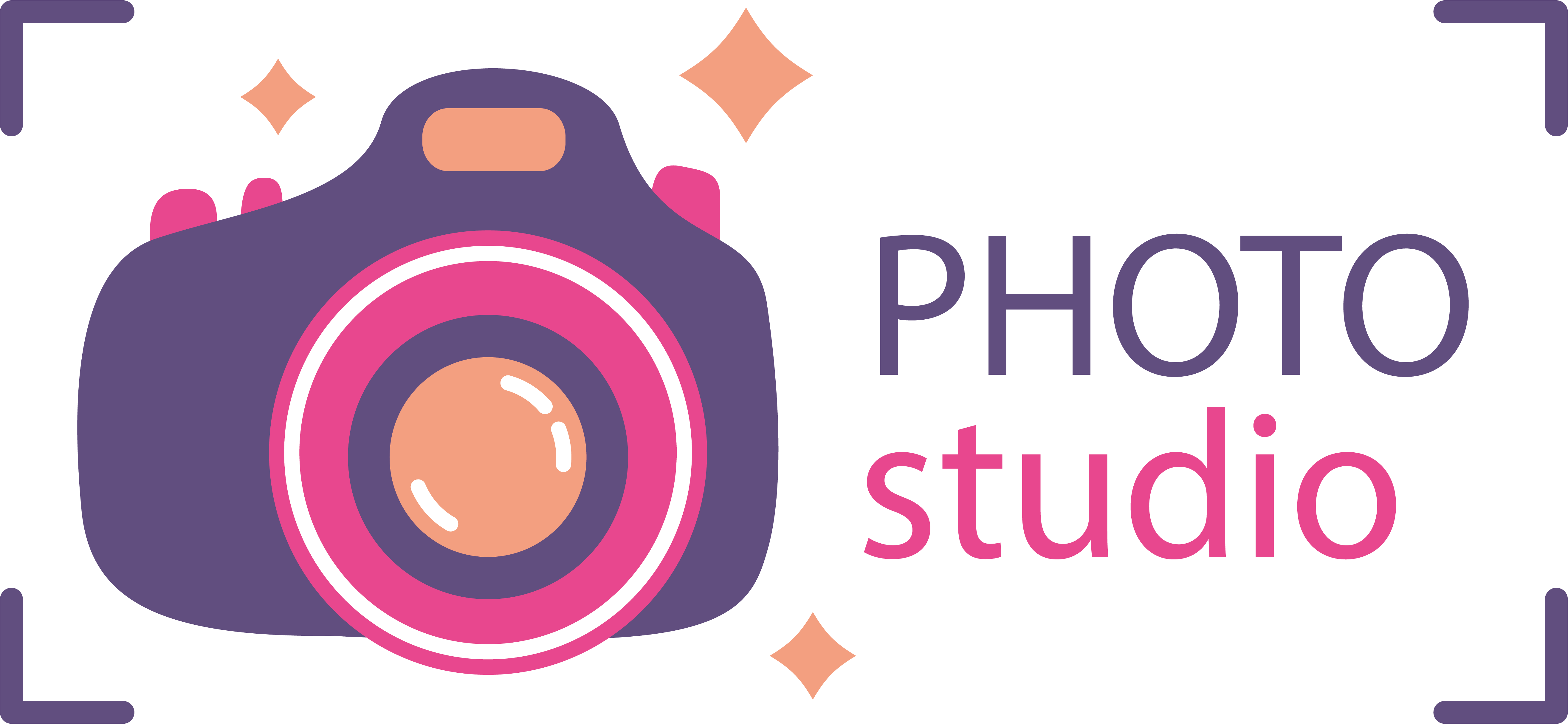 Photography logo png download. Purple transprent free pink