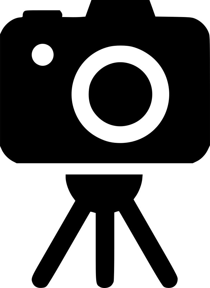 Photography png icon. Yps camera stand support