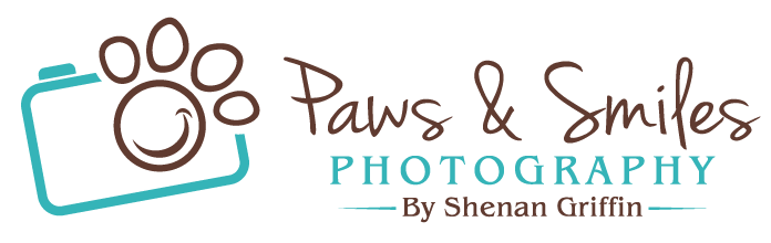Photography watermark png. Paws and smiles in