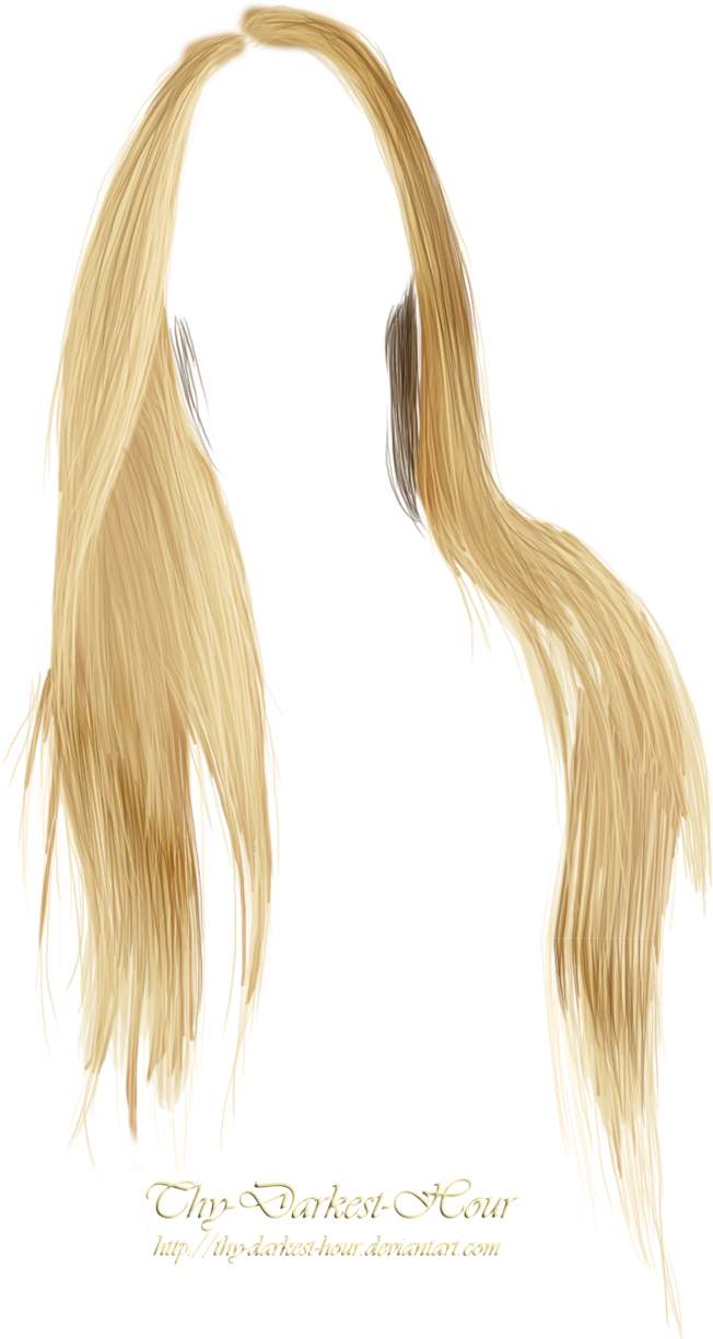 Photoshop hair png. Photo editing material