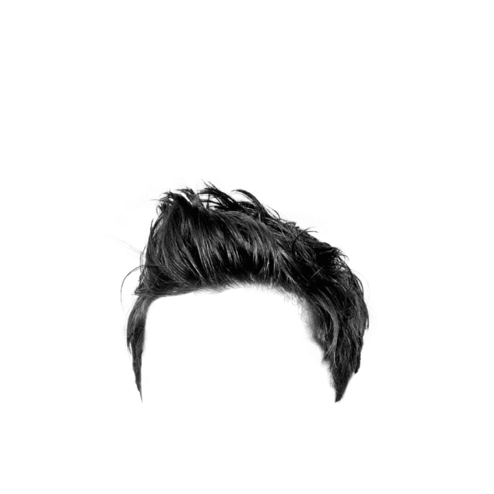 Photoshop hair png. For men style