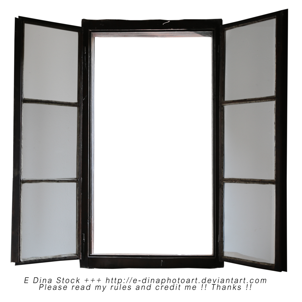 Photoshop png not available. Stock window by e