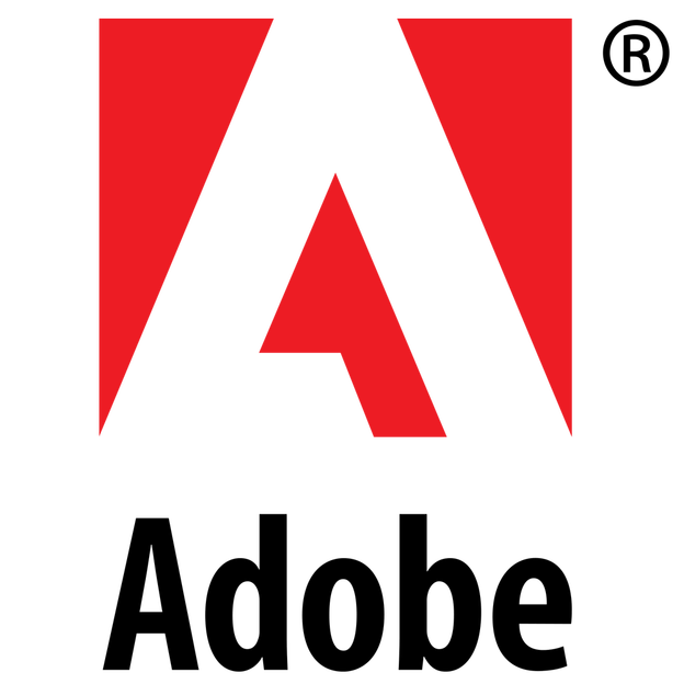 Photoshop save png with transparency. Adobe logo transparent background