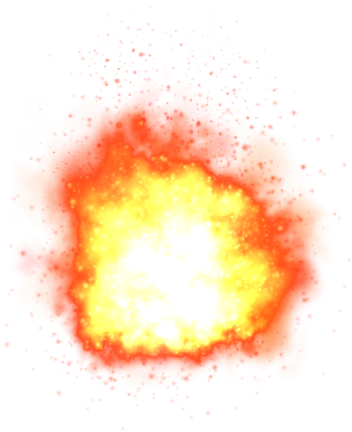 Photoshop transparent background png. Explosion icon symbol free