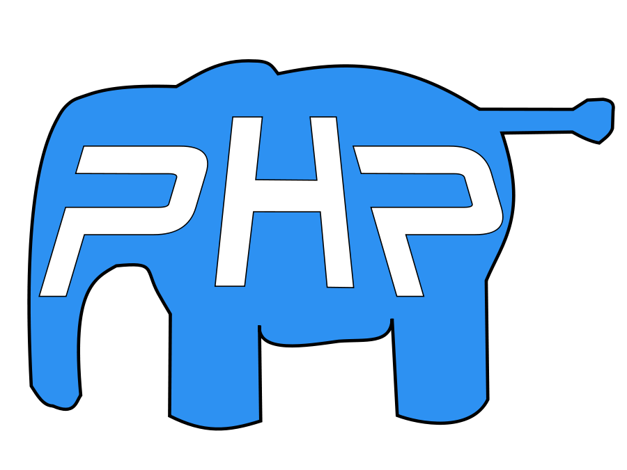 Php vector html. Elephant svg file clip