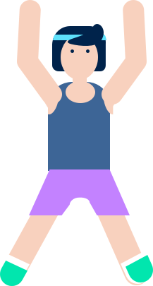 Virus clipart infected person. Types of physical activities