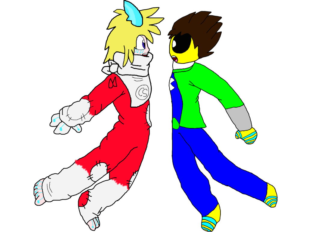 Pi drawing kid. Cyber shark and pac