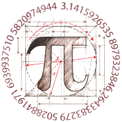 Pi drawing. By symbolgrafix spreadshirt