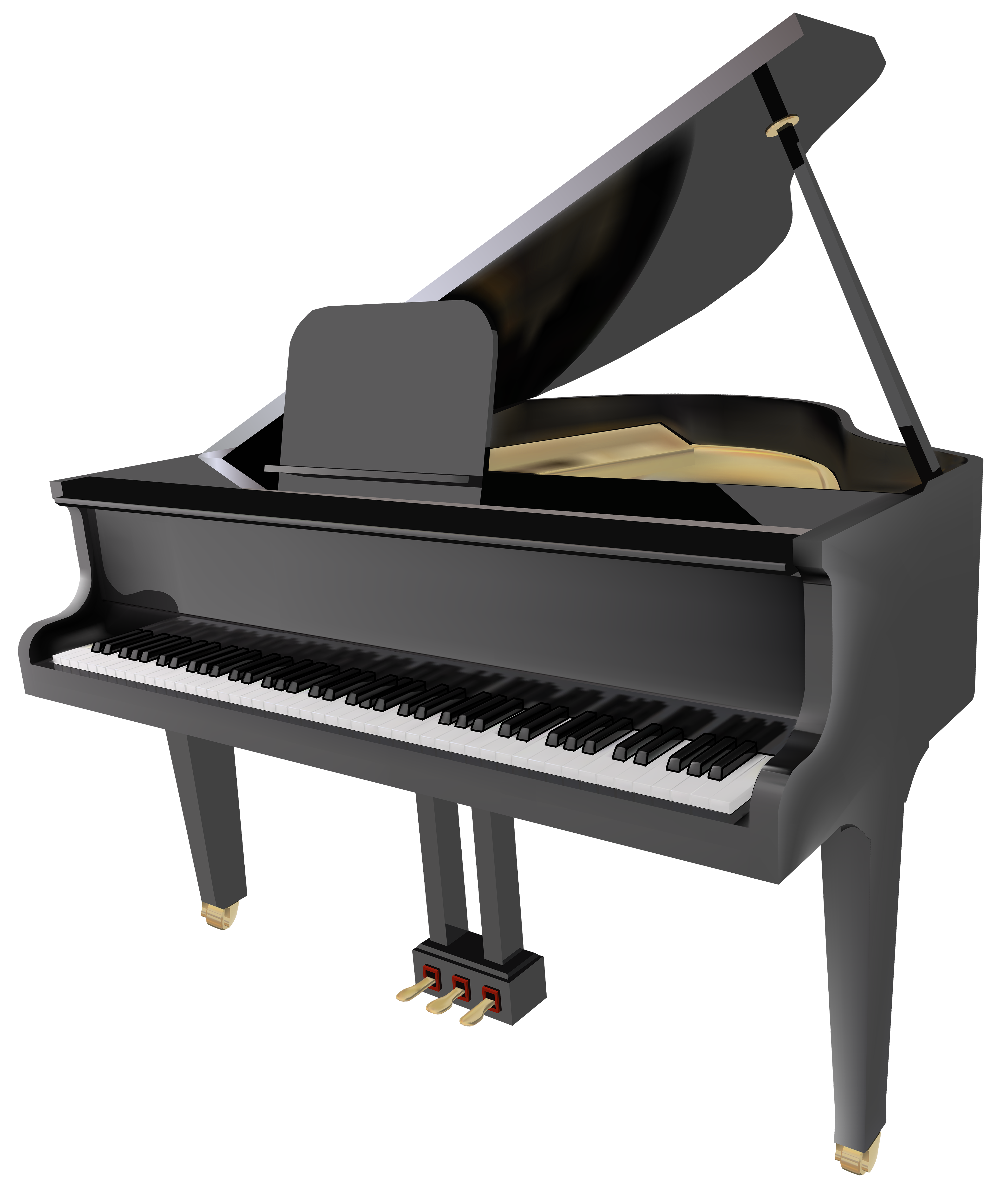 Grand png best web. Piano clipart png free library