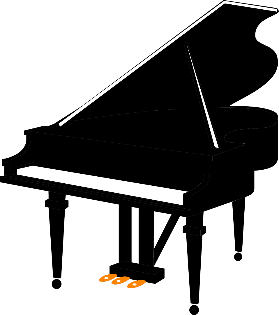 Piano clipart abstract. Collection of free transparent