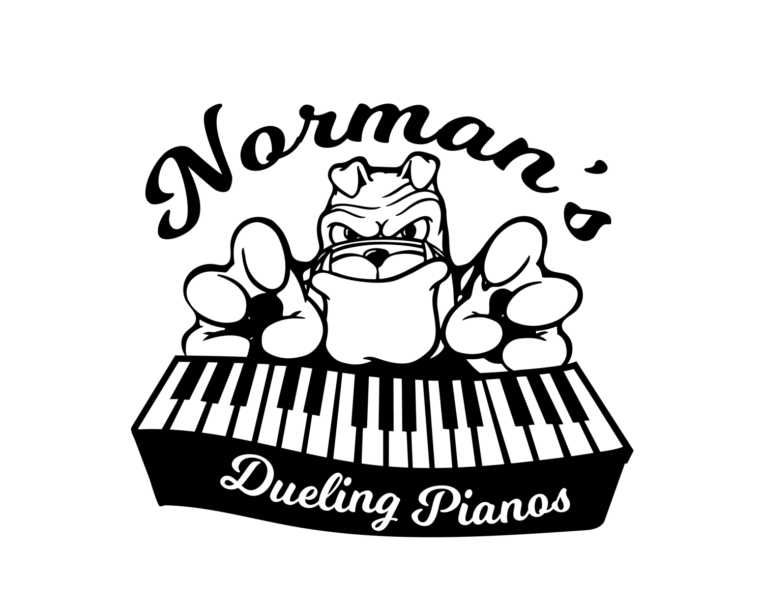 Piano clipart dueling pianos. Norman s bar