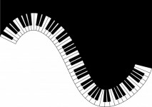 Piano clipart keyboard. Free stock photo public
