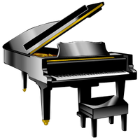 Piano clipart little girl. Download free png freepngclipart
