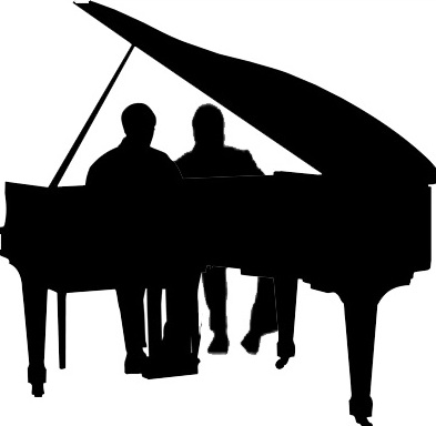 Piano clipart piano duet. Recital st augustine s